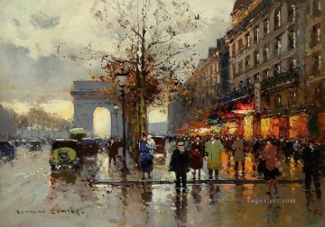 EC champs elysees 2 Paris Oil Paintings