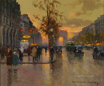 Paris Painting - EC champs elysees 5 Paris