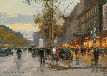EC champs elysees 7 Paris Oil Paintings