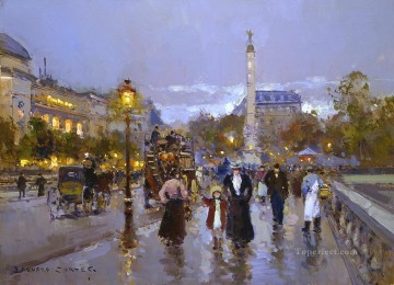 EC chatelet Paris Oil Paintings