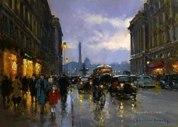 EC place de la concorde 1 Paris Oil Paintings