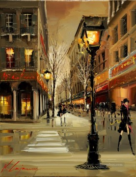 Paris Painting - KG Paris 24