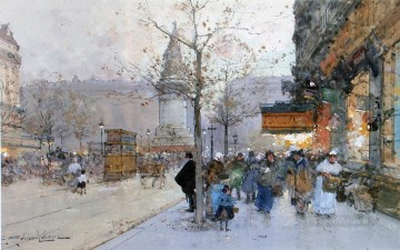 La Madeleine Paris Oil Paintings