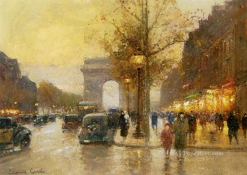 Les Champs Elysees Lido Paris Oil Paintings