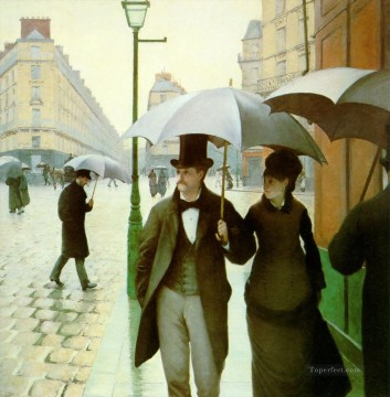 Paris Impressionists Gustave Caillebotte Oil Paintings