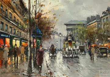 AB boulevard de la madeleine 8 Paris Oil Paintings