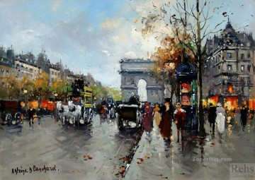 AB champs elysees 2 Paris Oil Paintings