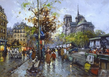 AB notre dame 2 Paris Oil Paintings