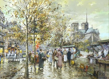 AB notre dame Paris Oil Paintings