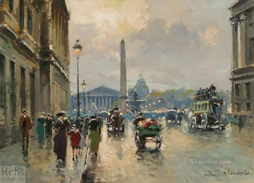 AB place de la concorde 4 Paris Oil Paintings