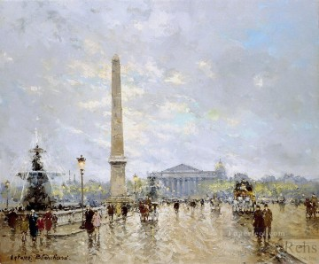 AB place de la concorde Paris Oil Paintings