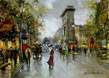 AB porte st denis 1 Parisian Oil Paintings