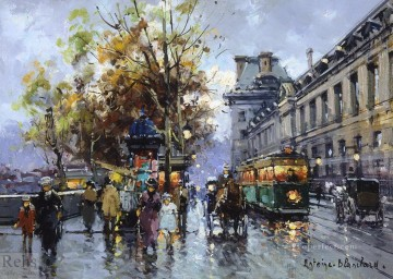 AB porte st denis 8 Parisian Oil Paintings