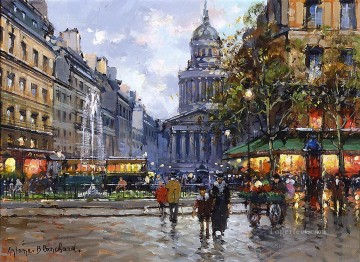 Paris Painting - AB the pantheon Parisian