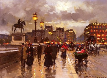 EC new bridge paris Oil Paintings