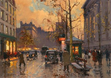 Paris Painting - EC place de la madeleine 1 Parisian