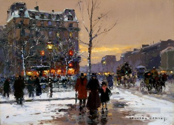 EC place pigalle Parisian Oil Paintings