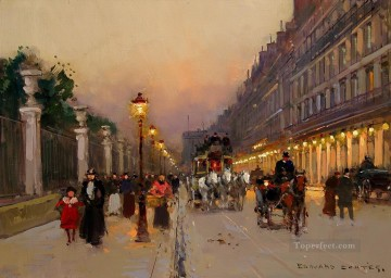 EC rue de rivoli 2 Parisian Oil Paintings