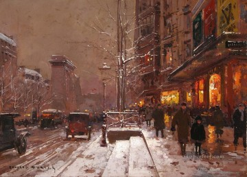 EC st denis winter 1 Parisian Oil Paintings