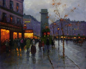 EC st martin 3 Parisian Oil Paintings