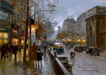 Paris Painting - EC st martin Parisian