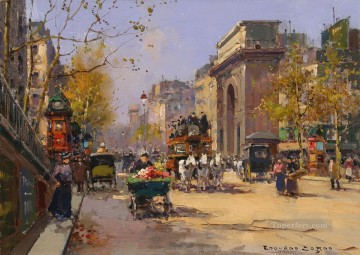 EC st martin spring Parisian Oil Paintings