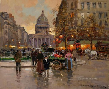 EC the pantheon Parisian Oil Paintings
