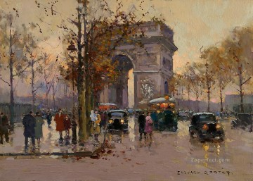 EC triumphal arch 2 Parisian Oil Paintings