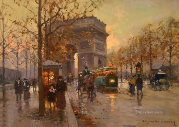 EC triumphal arch 4 Parisian Oil Paintings