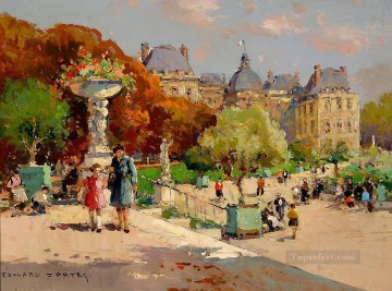 EC tuileries garden 1 Parisian Oil Paintings