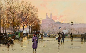 Trocadero Eugene Galien Parisian Oil Paintings