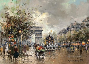 Paris Painting - AB arc de triomphe Parisian