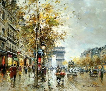 AB champs elysees Parisian Oil Paintings