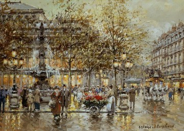 Paris Painting - AB comedie Parisian