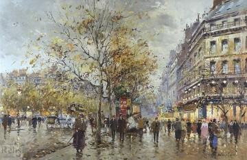 Paris Painting - AB le boulevard paris