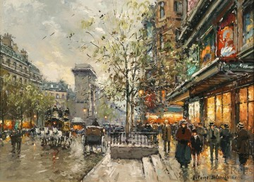 AB porte st denis 2 Parisian Oil Paintings