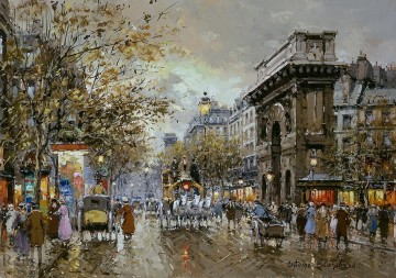 AB porte st martin Parisian Oil Paintings