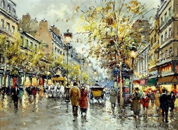 Paris Painting - AB theatre des varietes large 1 Parisian