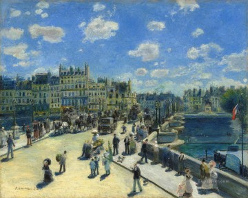 Paris Painting - Auguste Renoir Pont Neuf Paris