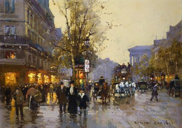 EC boulevard des capucines 2 Parisian Oil Paintings