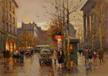 EC place de la madeleine 2 Parisian Oil Paintings