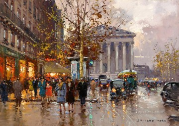 EC rue royale madeleine 1 Parisian Oil Paintings