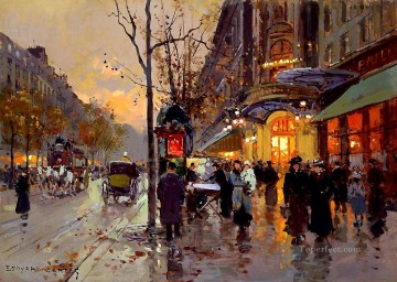 EC theatre du vaudeville 1 Parisian Oil Paintings