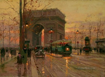 EC triumphal arch 3 Parisian Oil Paintings