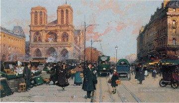 Paris Painting - laloue paris 44