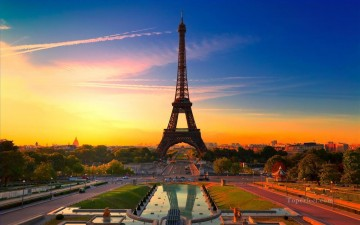 Paris Painting - photo of Eiffel Tower Paris France