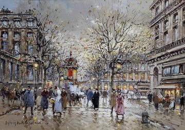 AB place du palais royal Parisian Oil Paintings
