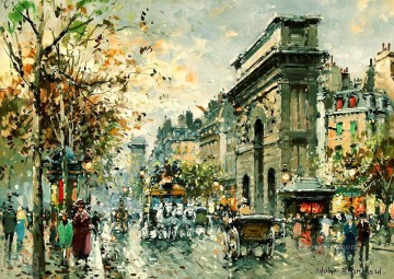 AB porte st martin 2 Parisian Oil Paintings