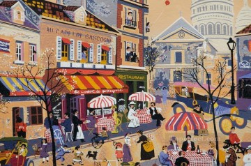 Paris Painting - montmatre paris