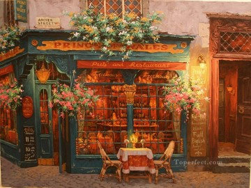 wales Art Painting - The Prince of Wales shops